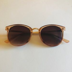 Elle Rose Gold Sunglasses